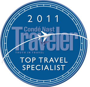conde nast top travel Specialist 2011