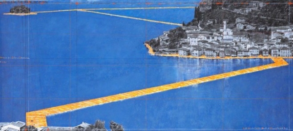 Christo Will Let You Walk on Water in Italy
