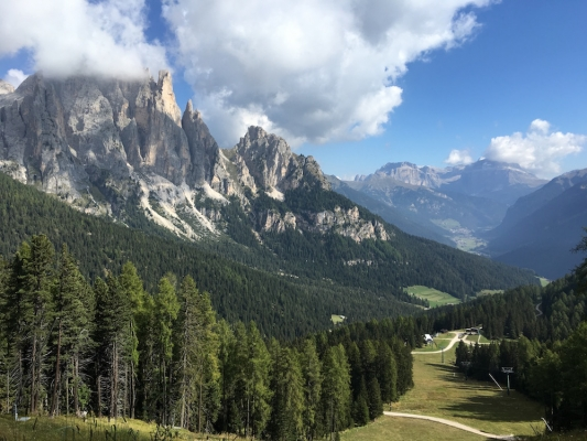 A Stay in the Dolomites