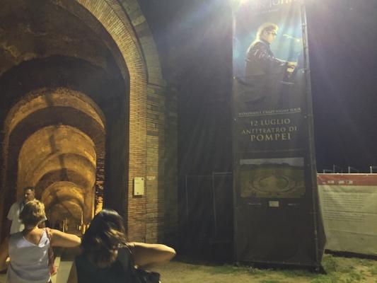 Elton John Rocks Pompeii