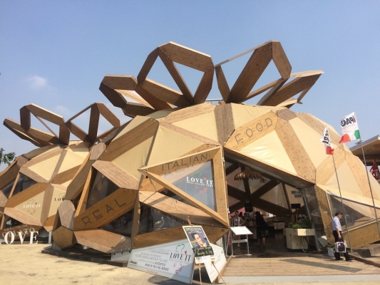 Expo 2015: Eat Your Way Around the World