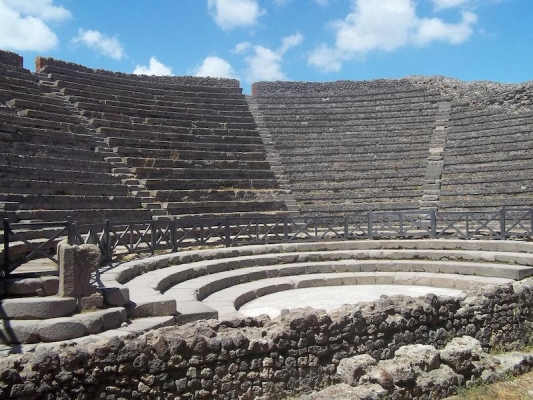 Pink Floyd Guitarist to Play in Pompeii