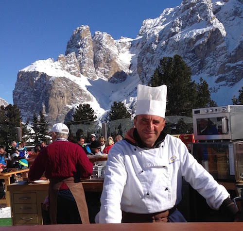 Italian Chef mountains