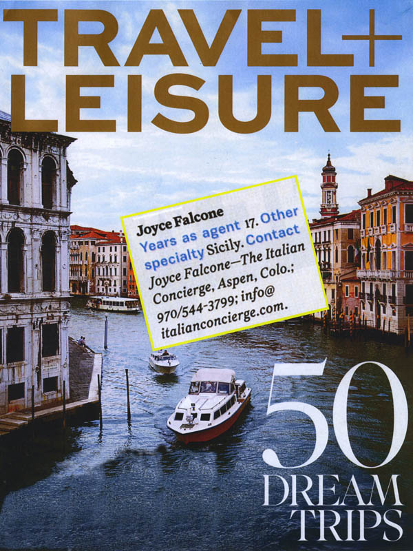 Travel Leisure Oct 2013